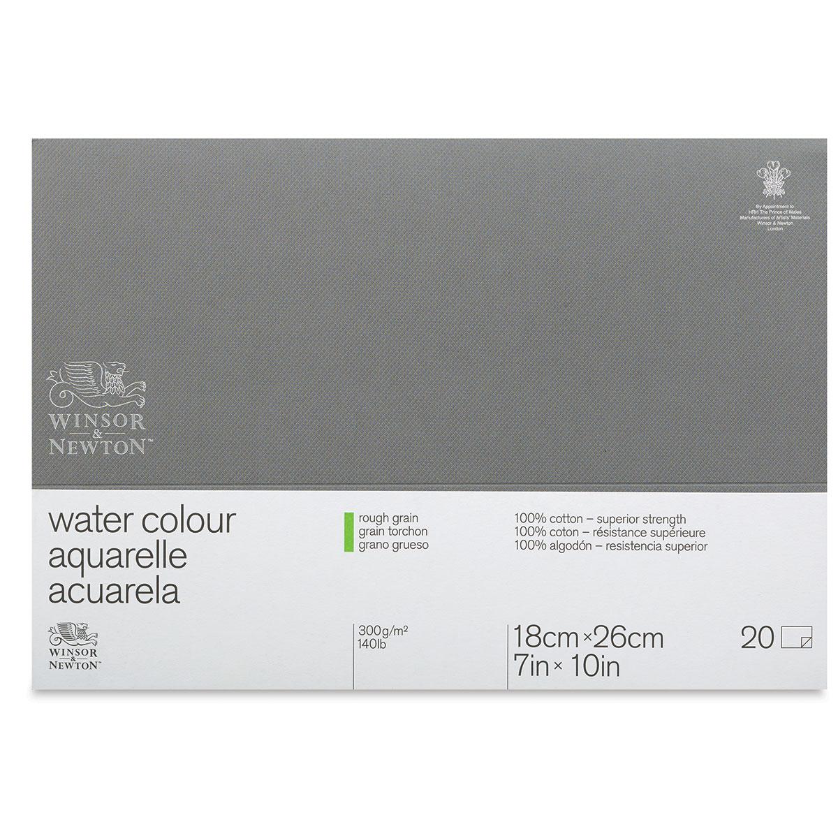 Winsor /& Newton Professional Watercolor Paper Block 12x16 Rough 140lb