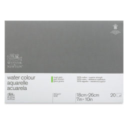 Winsor & Newton Professional Watercolor Block - 7'' x 10'', Rough Press, 140 lb (300 gsm)