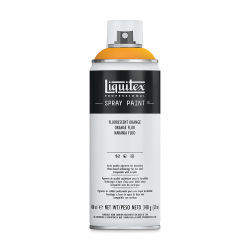 Liquitex Professional Spray Paint - Fluorescent Orange, 400 ml can