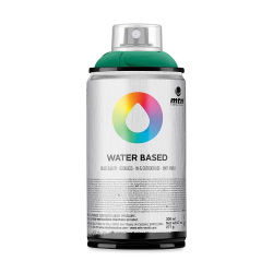 MTN Water Based Spray Paint - Emerald Green Deep, 300 ml Can