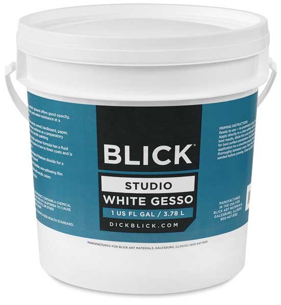 Blick Studio Gesso - 2 Coat, Gallon