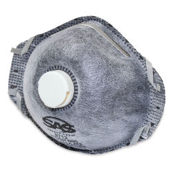 OUT OF STOCK. TEMPORARILY UNAVAILABLE.  SAS Safety N95 Valved Active Carbon Respirator - Pkg of 1