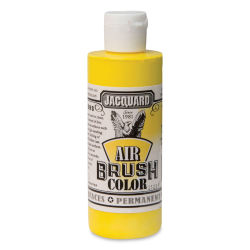 Jacquard Airbrush Paint - 4 oz, Opaque Yellow