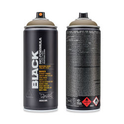 Montana Black Spray Paint - Pan, 400 ml can