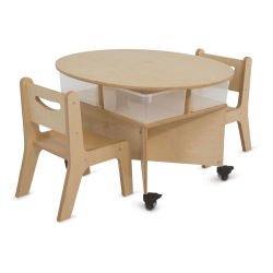 Whitney Brothers Mobile Collaboration Table