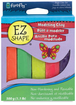 EZ Shape Modeling Clay, Pkg of 5