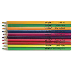 Liqui-Mark Neon Colored Pencils, Set of 10