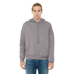 Bella + Canvas Unisex Sponge Fleece Drop Shoulder Sweatshirt - Storm, Small
