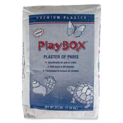 Playbox Plaster of Paris - Bag, 25 lb