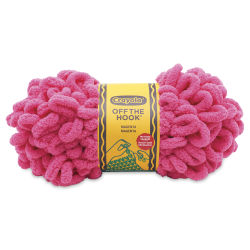 Lion Brand Crayola Off The Hook Yarn - Magenta