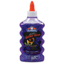 Elmer's Glitter Glue - Purple, 6 oz Bottle