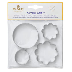 DMC Patch Art Shapes - Dots and Flowers