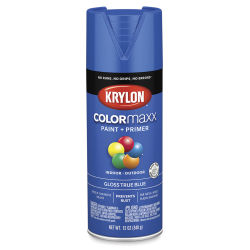 Krylon Colormaxx Spray Paint - True Blue, Gloss, 12 oz