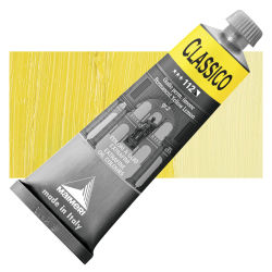 Maimeri Classico Oil Color - Permanent Yellow Lemon, 60 ml tube