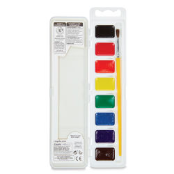Crayola Washable Watercolor Pan Set of 8 Colors, Packaging May Vary