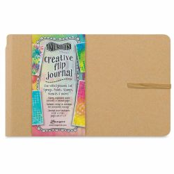Ranger Dylusions Creative Flip Journal - Small, 5-5/8'' x 8-3/8''