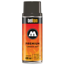 Molotow Belton Spray Paint - 400 ml Can, Black Grey Natural