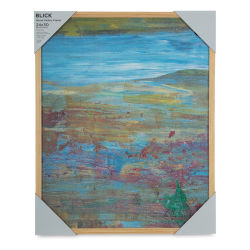 Blick Wood Gallery Frame - Natural, 24'' x 30''