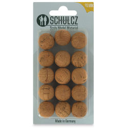 Schulcz Scale Model Foliage Spheres - Cork, 20 mm, Pkg of 15 (front of package)