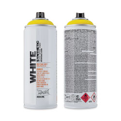 Montana White Spray Paint - Brasil, 400 ml can