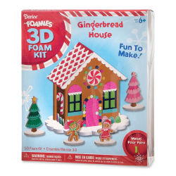 Darice Foamies Holiday Kit - Gingerbread House Kit