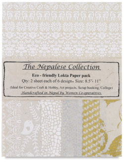 Lokta Paper, Pkg of 12 Sheets
