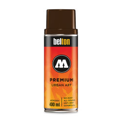 Molotow Belton Spray Paint - 400 ml Can, CMP Dark Brown