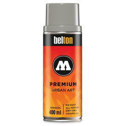 Molotow Belton Spray Paint - 400 ml Can, CAPARSO Middle Gray Neutral