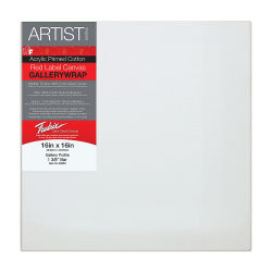 Fredrix Profile Cotton Canvas - 16'' x 16'', Gallerywrap