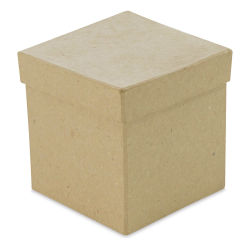 "DecoPatch Paper Mache Boxes - Square, 4"" W x 4"" L x 4"" H"