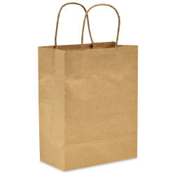 Darice Kraft Paper Bags with Handles - Small, Pkg of 13