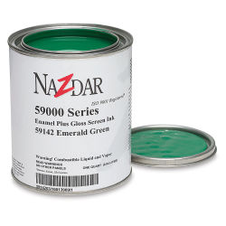 Naz-Dar 59-000 Series Gloss Enamel - Emerald Green, 1 kg