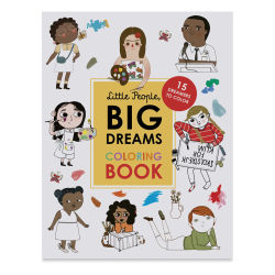 Little People, Big Dreams Coloring Book, Cover