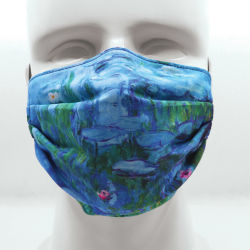 Today Is Art Day Reversible Face Masks- Waterlilies and Venice