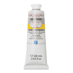 Charbonnel Aqua Wash Etching Ink - Primrose Yellow, 60 ml