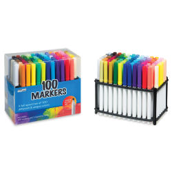 100-Color Marker Set