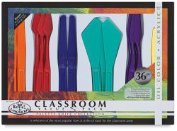 Royal Langnickel Palette Knife Classroom Value Pack - Set of 36
