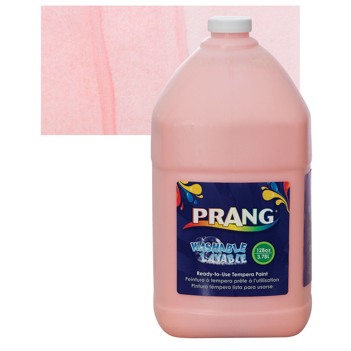 Prang Ready-To-Use Washable Tempera Paint - Peach, Gallon