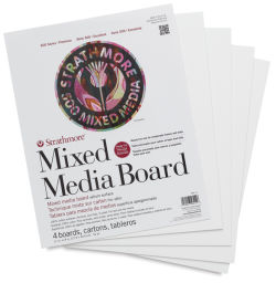 500 Series Mixed Media Boards, Pkg of 4