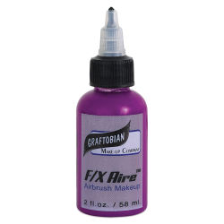 Graftobian F/X Aire Airbrush Makeup - Neon Violet, 2 oz