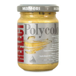 Maimeri Polycolor Vinyl Paints - Reflect Rich Gold, 140 ml