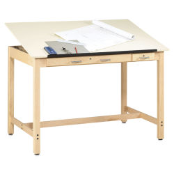 Diversified Woodcrafts Instructor Drafting Table - 60'' Wide