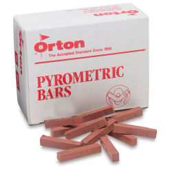 Pyrometric Mini Bars, Cone 6, Box of 50
