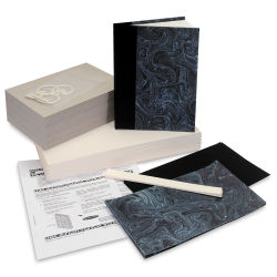 Books by Hand Blank Journal Kit Class Pack - Marble, 10 Students