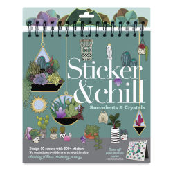 Ann Williams Sticker & Chill Kit - Succulents and Crystals