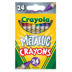 Crayola Metallic FX Crayons - Pkg of 24