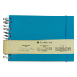 Semikolon Black Page Photo Album - Mini Mucho, Turquoise