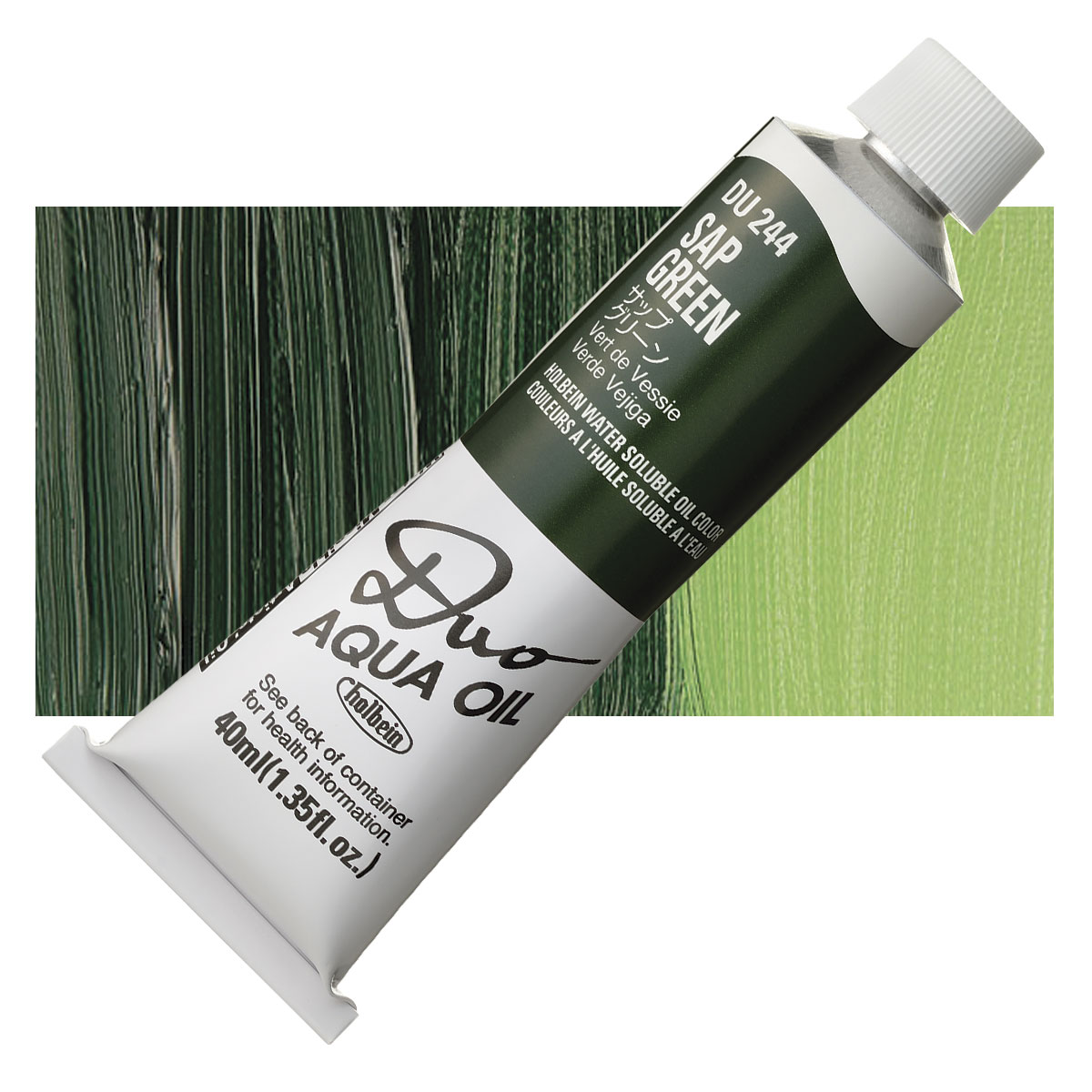 Holbein Duo Aqua Water Soluble Oil Paints and Sets
