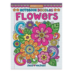 Notebook Doodles Coloring & Activity Book-Flowers