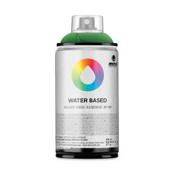 MTN Water Based Spray Paint - Brilliant Yellow Green Deep, 300 ml Can